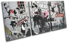 Montage Collage Banksy Street - 13-6068(00B)-TR21-LO